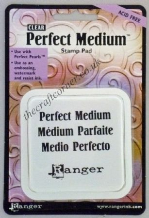 Ranger Perfect Medium Clear Rubber Stamp Ink Pad by Ranger